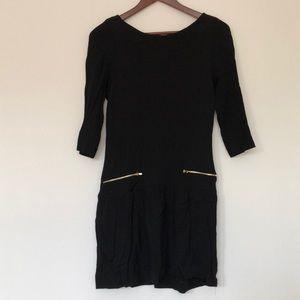 Black SANDRO dress!